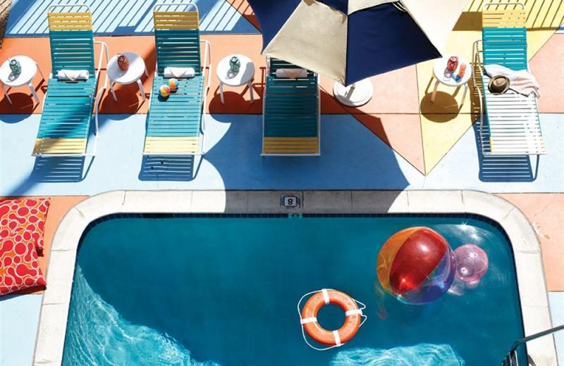 Outdoor pool at Hotel Del Sol.