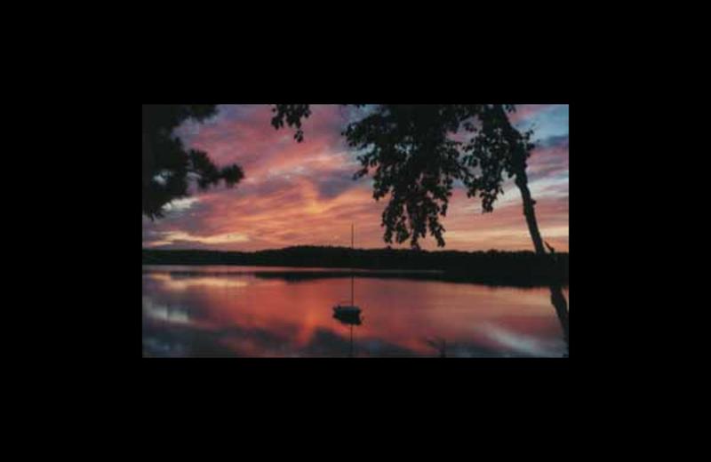 Sunset at Whitehaven Bed & Breakfast.