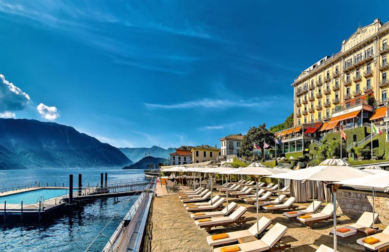 Exterior view of Grand Hotel Tremezzo.