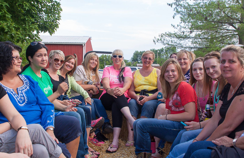 Groups at Harpole's Heartland Lodge.