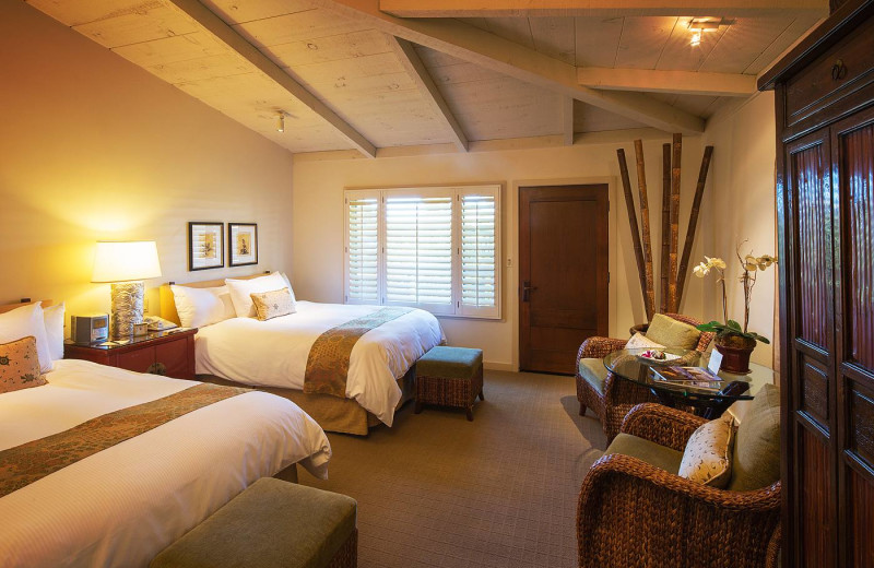 Double guest room at The Tradewinds at Carmel-by-the-Sea.
