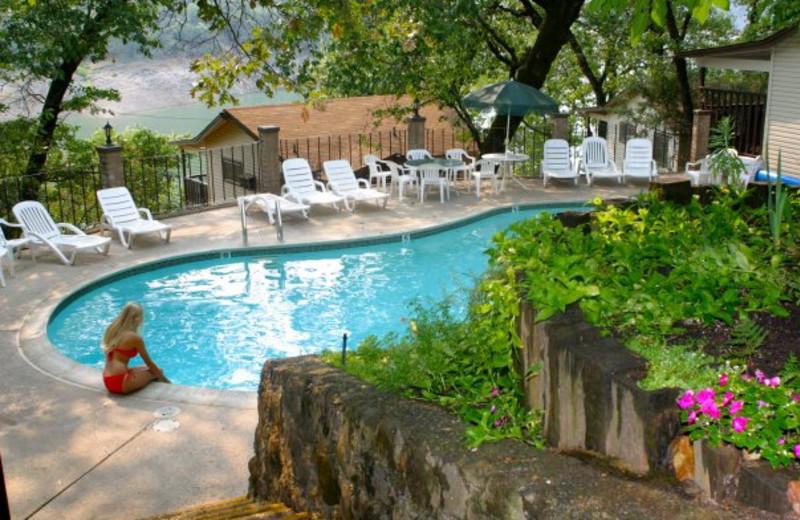 Outdoor pool at Tsasdi Resort.