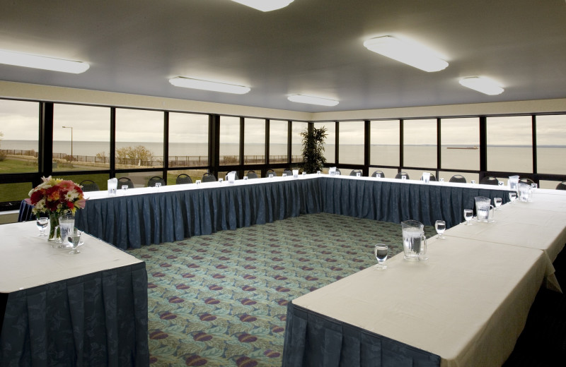 Conference room at EdgeWater Resort and Waterpark.