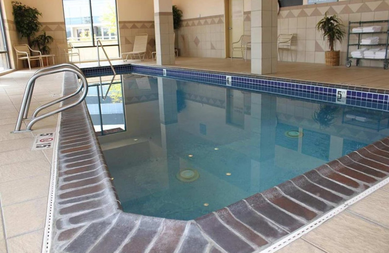 Indoor pool at Hampton Inn & Suites Bremerton, WA.