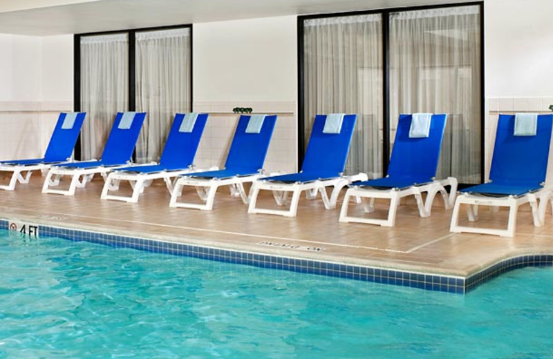 Indoor pool at Courtyard by Marriott Detroit/ Novi.