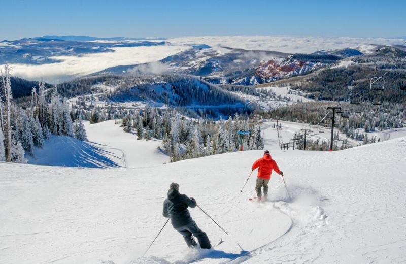 Ski near Abbey Inn.