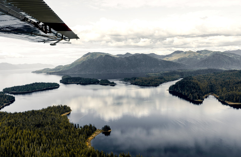 While at Salmon Falls Resort, you can book a float plane trip through local companies to explore more of Alaska.