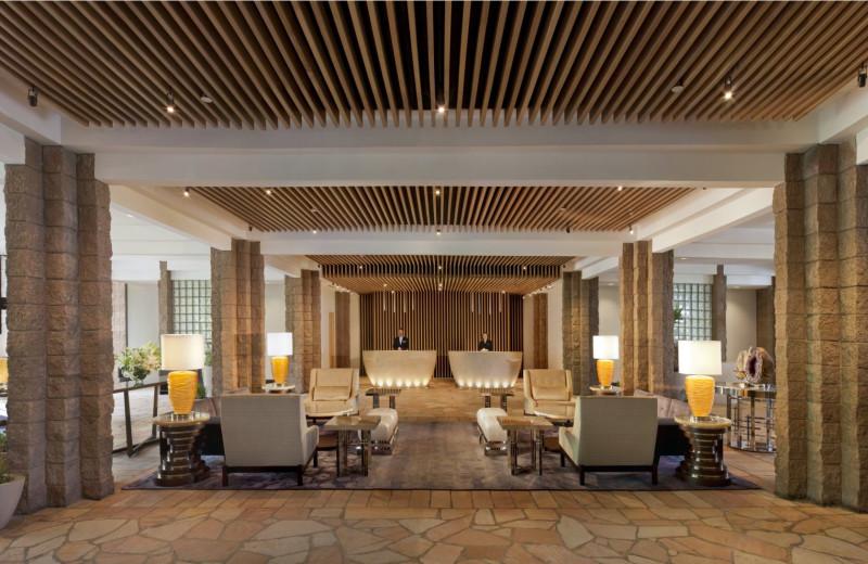 Lobby at Loews Hotels-Ventana Canyon.