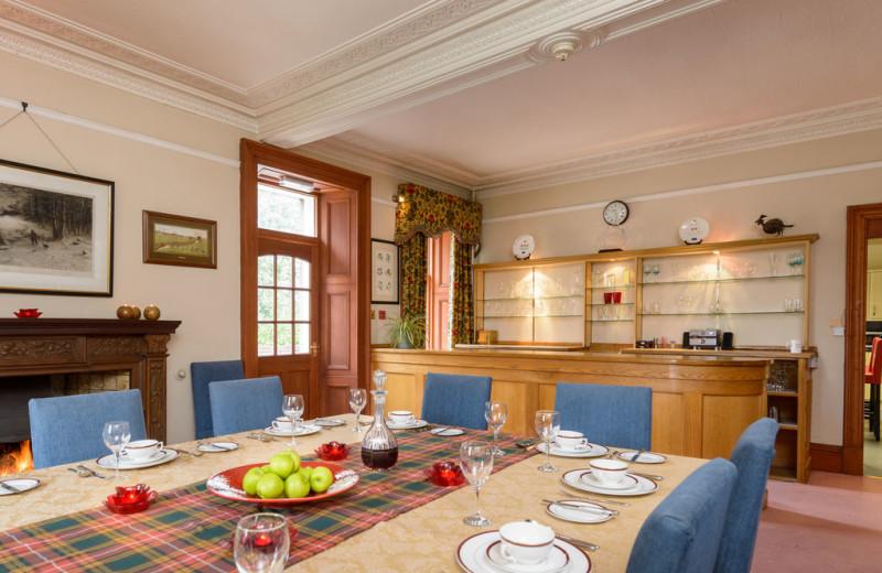 Dining at Castleton House Hotel.