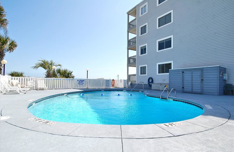 Rental pool at Seaside Vacations.