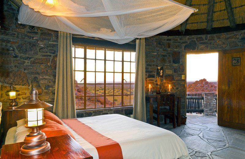 Guest room at Cañon Lodge.
