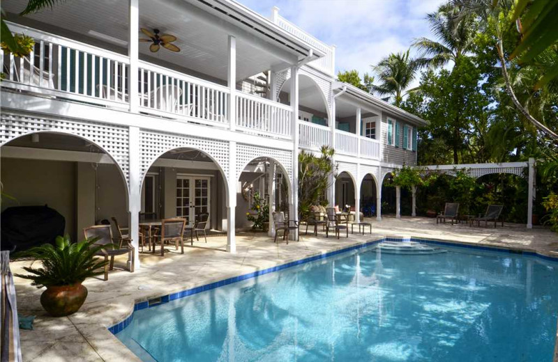 Rental pool at At Home in Key West, LLC.