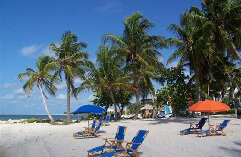 The beach at Rent Key West Vacations.