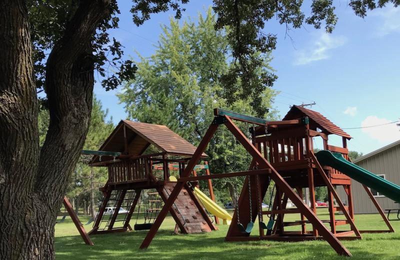 Playground at Holly's Resort.