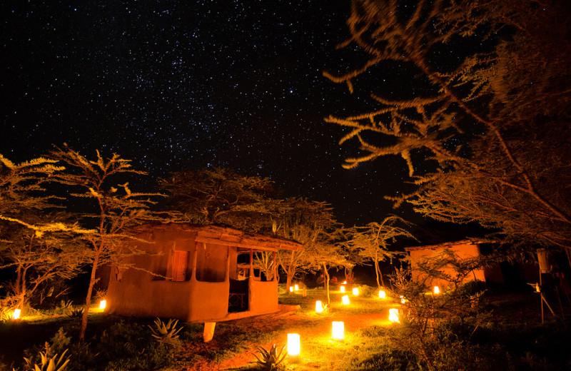 Exterior view of Maji Moto Camp.