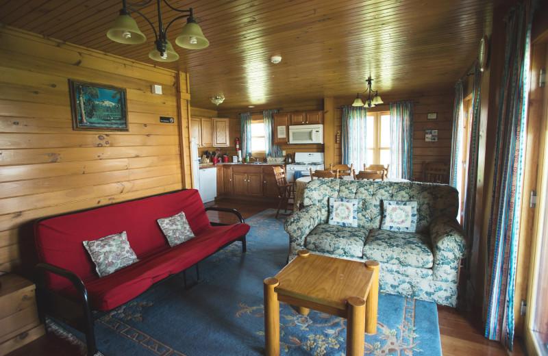 Cabin interior at Cobtree Vacation Rental Homes.