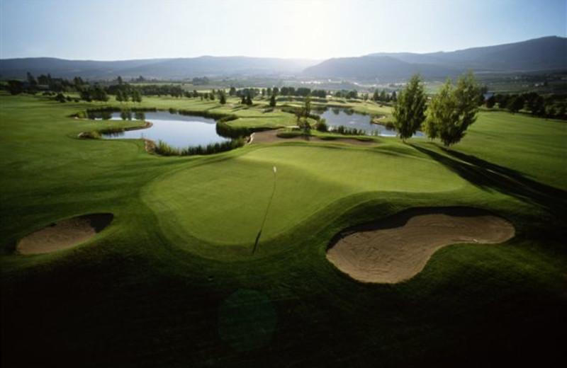 Golf course at Okanagan Seasons Resort.
