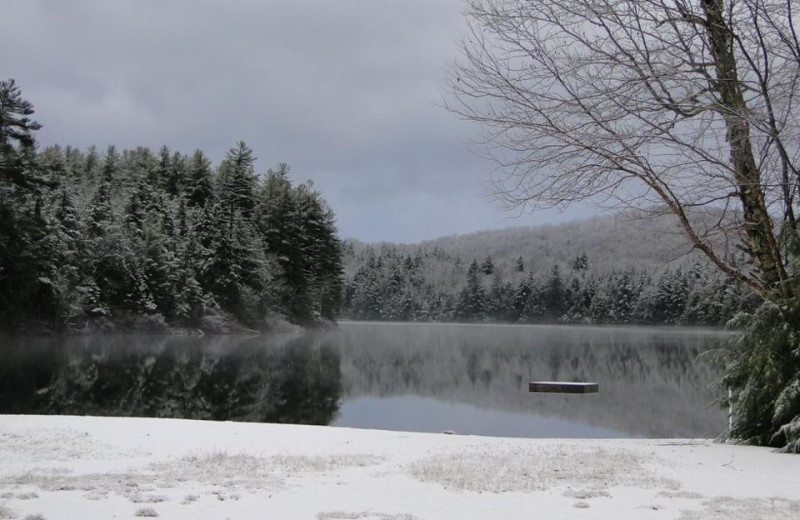Winter at Lapland Lake Nordic Vacation Center