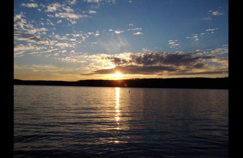 Lake view at Irvin Cobb Resort.