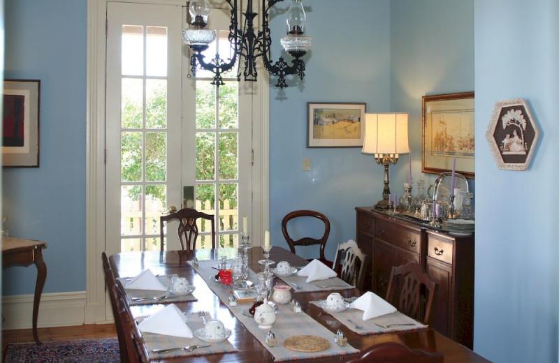 Dining at Barachois Inn.