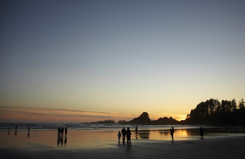 The beach at Cox Bay Beach Resort.