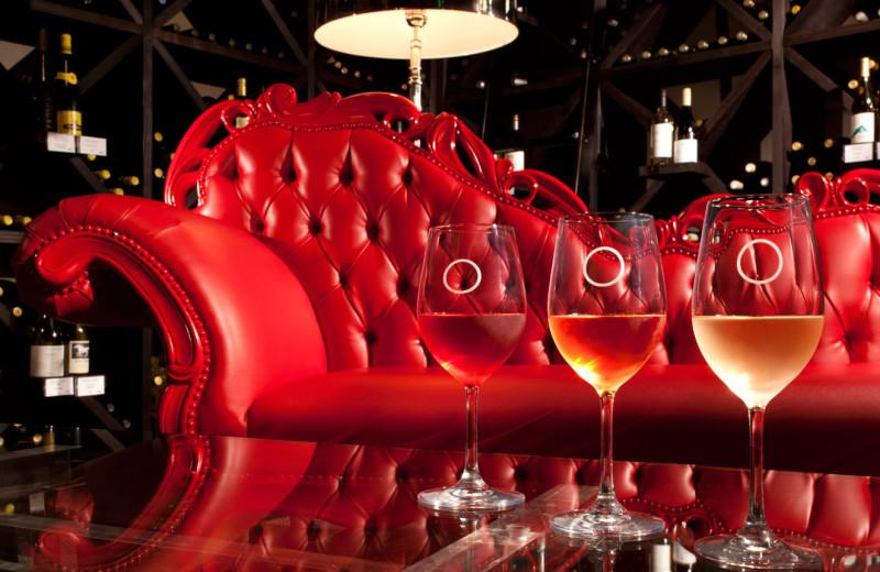 Wine room at La Concha Hotel & Spa.