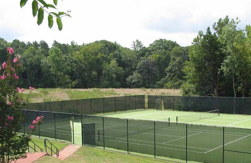 Tennis Courts at Berry Hill Resort