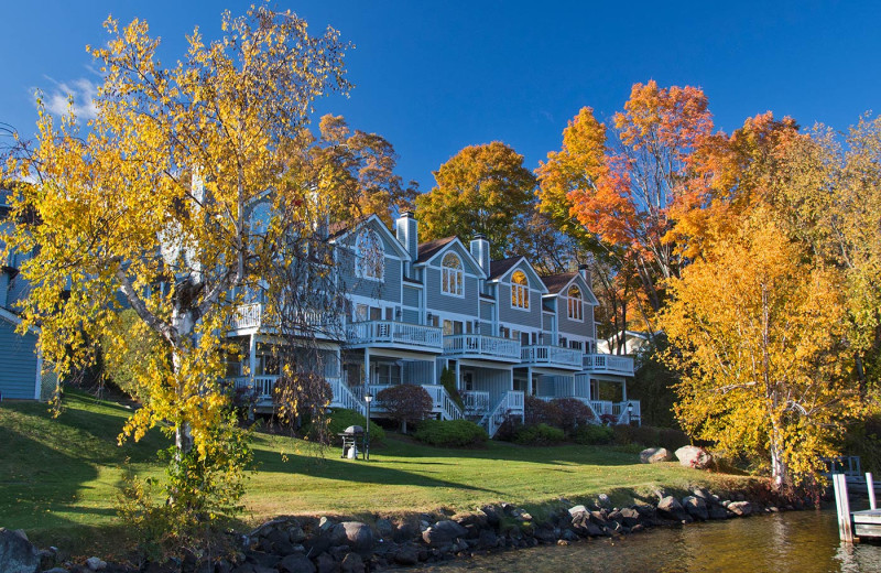Exterior view of The Quarters at Lake George.