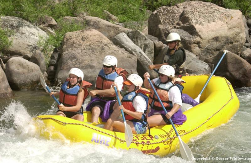 Raft the Gallatin River at Bar N Ranch.