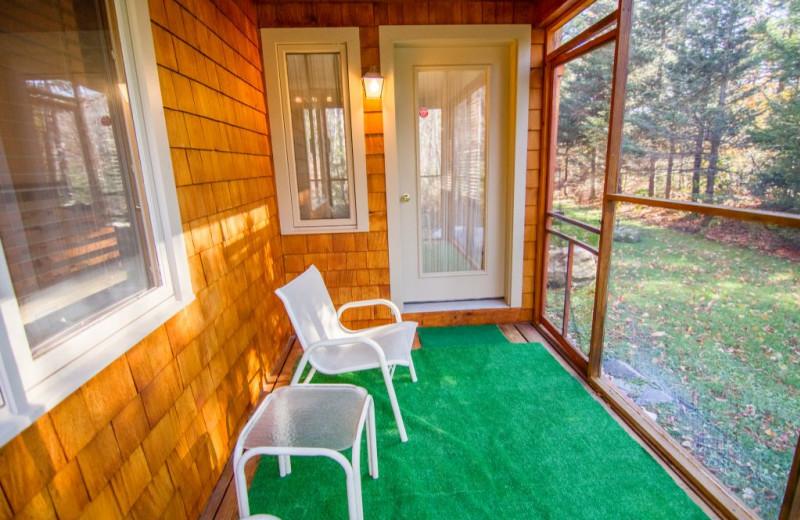 Rental porch at The Killington Group.