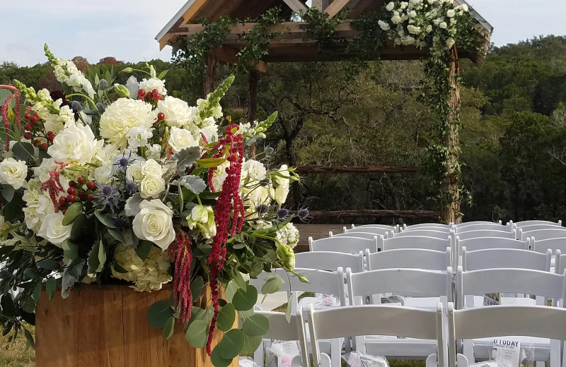 Weddings at Hill Country Casitas.