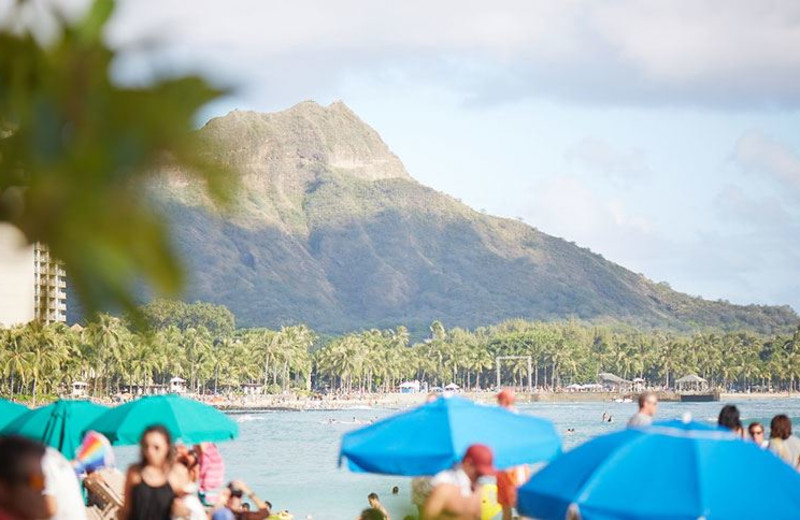 Easy Access to the Beach at Outrigger Waikiki Beach Resort