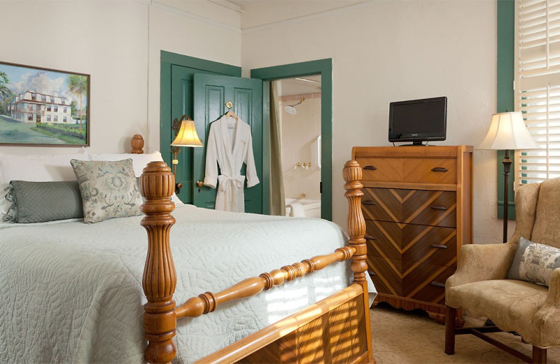 Guest room at St. Francis Inn.