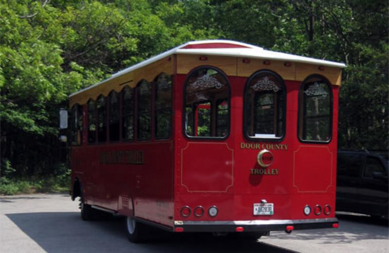 Door County Trolley at Baileys Harbor Resort