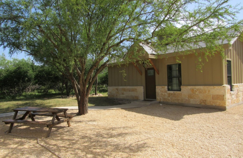 Rental exterior at Frio River Vacation Rentals.