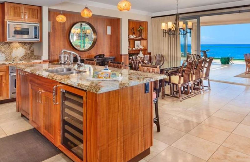 Guest kitchen at Honua Kai Resort & Spa.