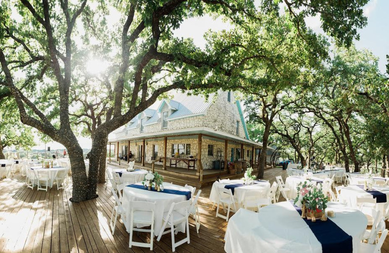 Wedding at The Heart of Texas Ranch.