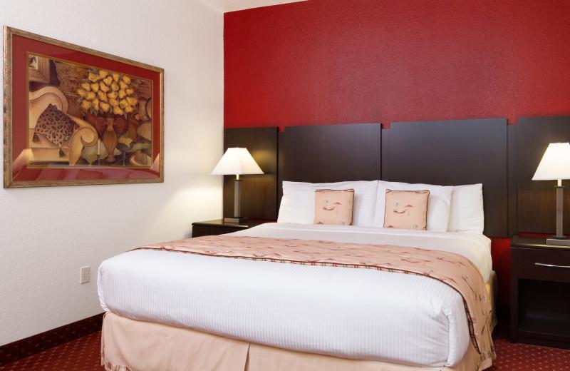Guest room at Sirata Beach Resort.