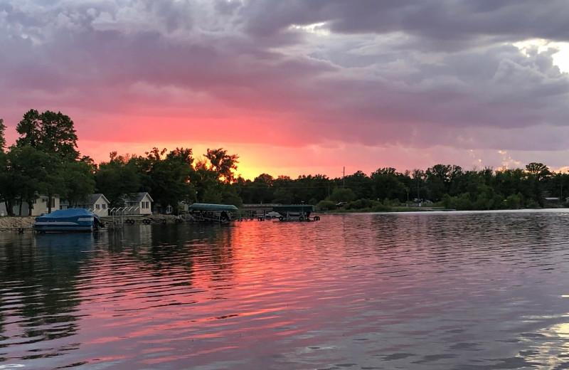 Sunset at Four Seasons Resort.