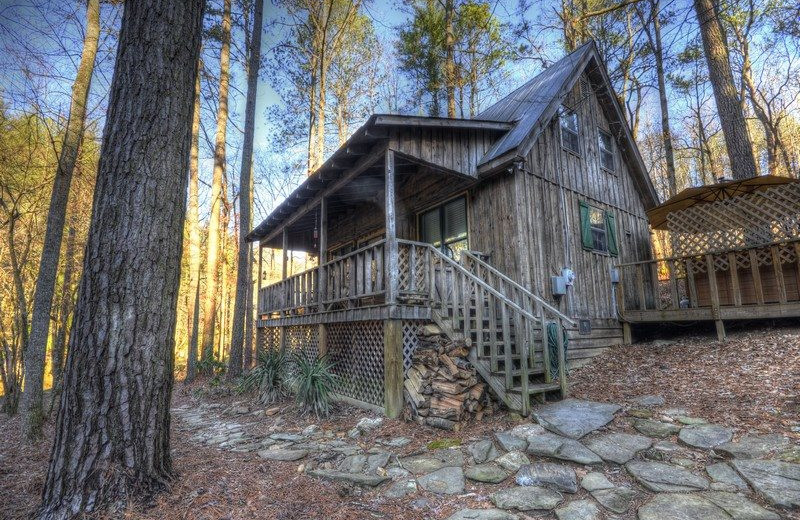 Rental exterior at North Georgia Vacation Spots.