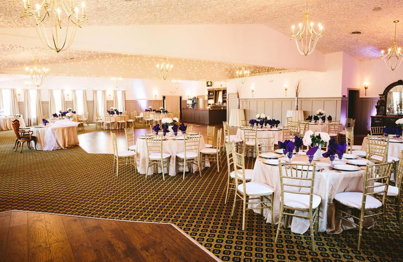 Wedding reception at Landoll's Mohican Castle.