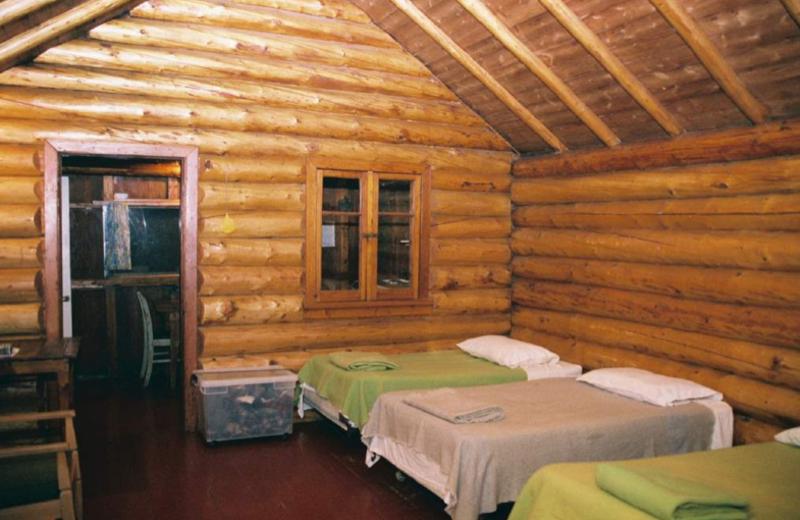 Cabin Interior at Cedar Lake Lodge