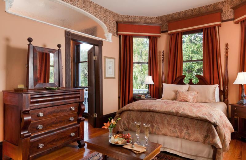 Guest room at Azalea Inn.