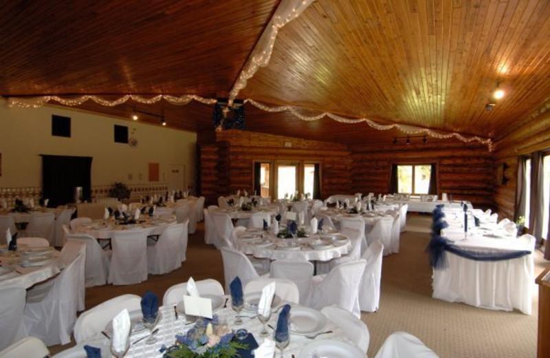 Reception at Three Bars Ranch.
