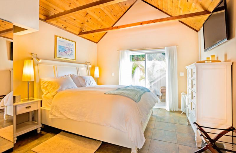 Vacation rental bedroom at Seabreeze Vacation Rentals, LLC.