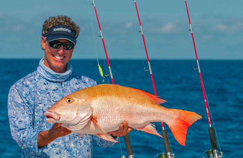 Fishing at Hawks Cay Resort.