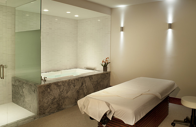 Spa room at Solaris Residences.