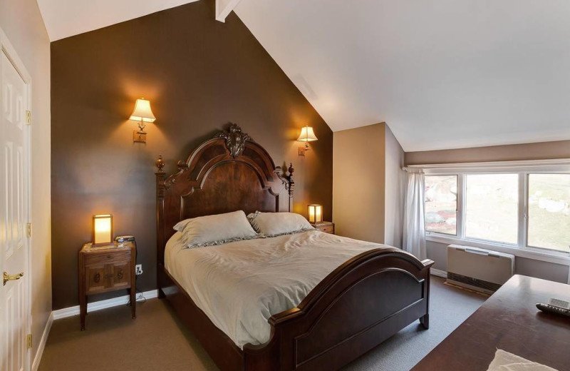 Rental bedroom at Killington Rental Associates.