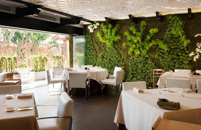 Dining at Hotel Puente Romano.
