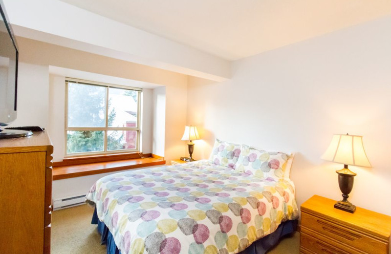 Rental bedroom at Whistler Breaks.